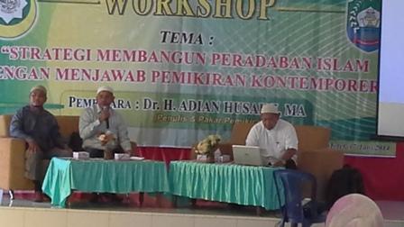 DEWAN DA'WAH ABDYA GELAR WORKSHOP PEMIKIRAN ISLAM