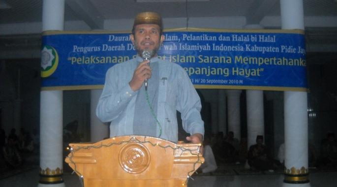 Pidato Ketua Umum Dewan Da'wah