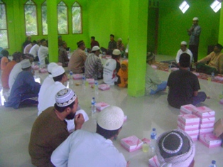 Ifthar Jama'i & Tarawih Awali Kegiatan Di Masjid Dewan Da'wah Kota Subulussalam