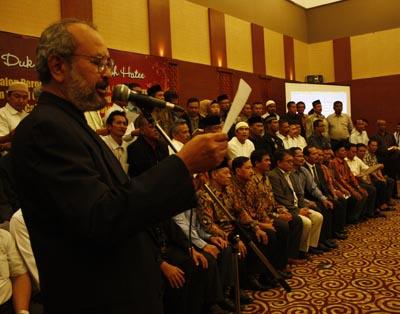 Majlis Syura Dewan Da'wah Aceh Terpilih Sebagai Anggota DPD RI