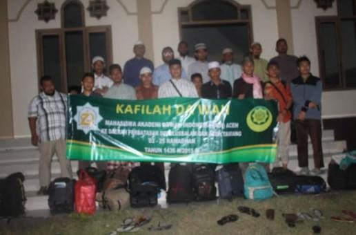 ADI Aceh Kirim Kafilah Da'wah ke Wilayah Perbatasan