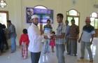 Dewan Da'wah Salurkan paket Sembako Bantuan Yayasan Alwaahah Al Ijtimaiyyah Al Khairiyah