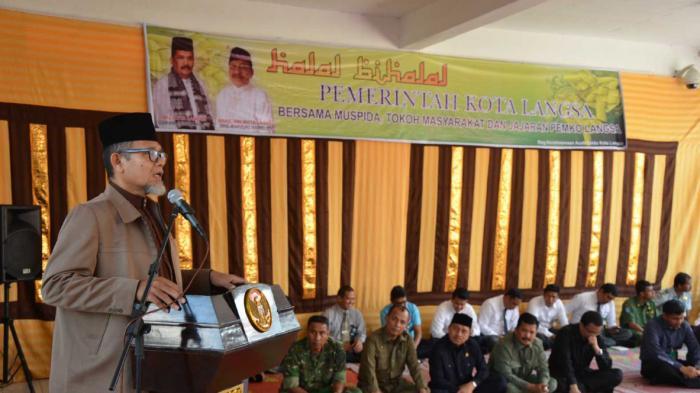 Tgk Hasanuddin Yusuf Adan Puji Pelaksanaan Syariat Islam di Langsa