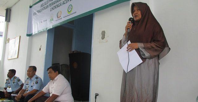 Muslimat Dewan Da'wah Aceh Bina Warga Lapas Perempuan
