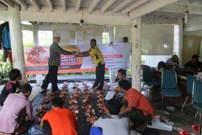 Dewan Dakwah Aceh Salurkan Daging Kurban Untuk Keluarga Miskin