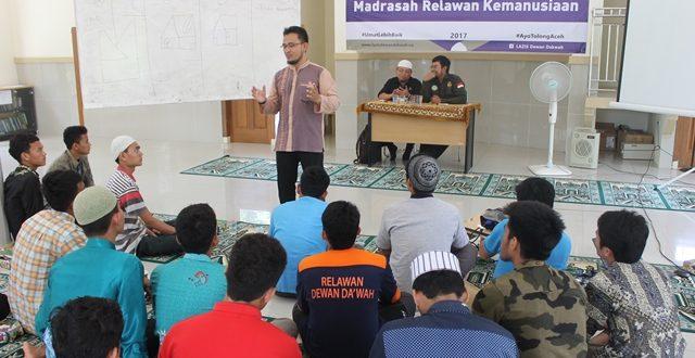 Dewan Da'wah Aceh Gelar Pelatihan Kebencanaan