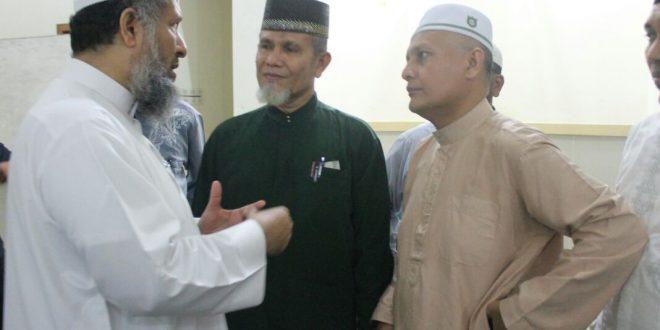 Hakim Mahkamah Kasasi Arab Saudi Kunjungi Dewan Dakwah Aceh